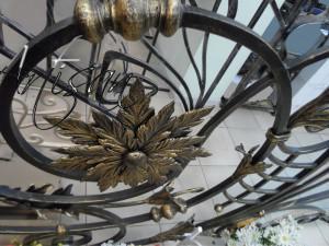 Декорирвание коваными элементами