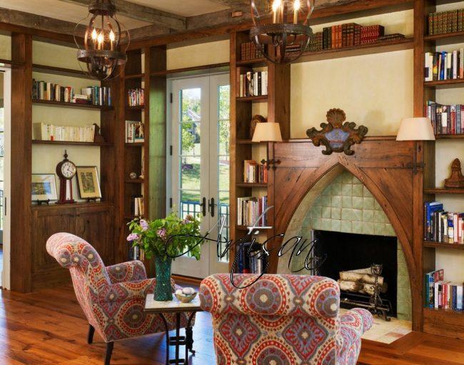 Оформление интерьера в готическом стиле