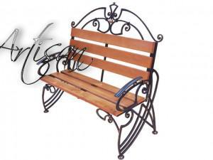 кованые скамейки для парковых ансамблей