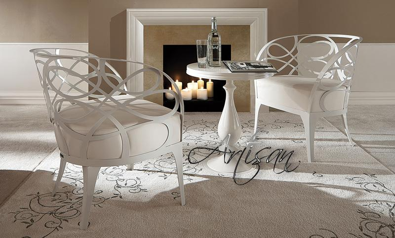 Современная кованая мебель в интерьере выглялит весьма изысканно