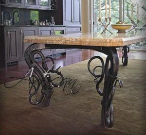 кованый столик 2