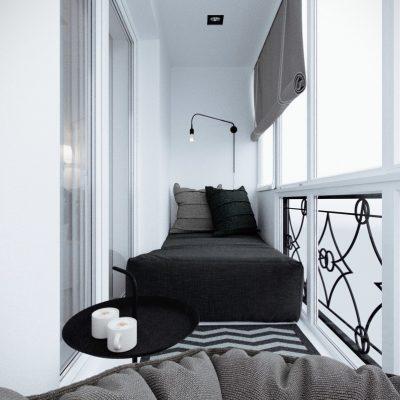 Кованая мебель придаст уют вашему балкону