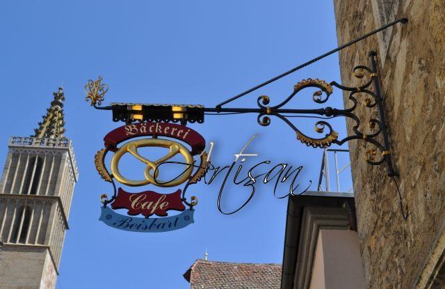 Калач под названием брецель – символом средневековых пекарей
